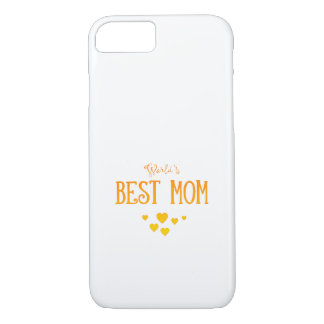 World's Best Mom | Adorable Gift iPhone 8/7 Case