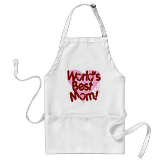 World's BEST Mom! Adult Apron