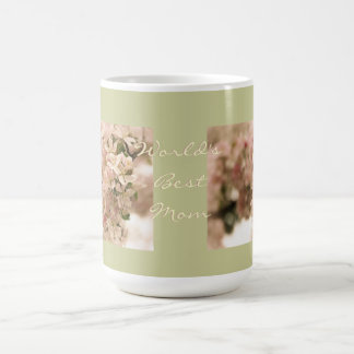 World's Best Mom Apple Blossoms Coffee Mugs