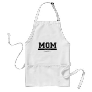 Worlds Best Mom Apron (Customizable)