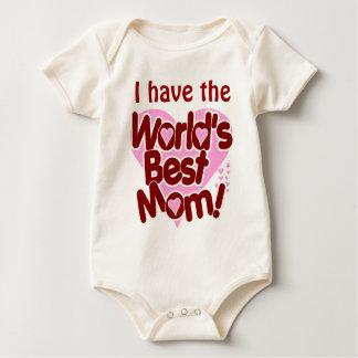 Worlds Best Mom Baby Bodysuit