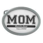 Worlds Best Mom Belt Buckle