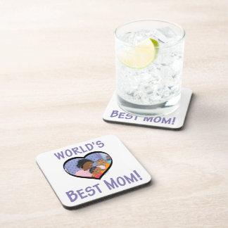 World's Best Mom Beverage Coaster