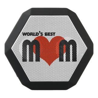 Worlds Best Mom Black Bluetooth Speaker