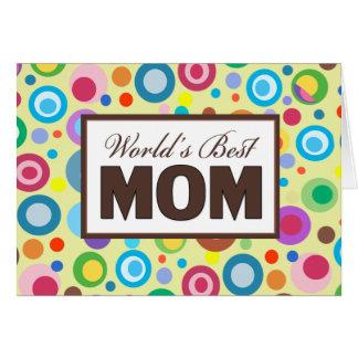 World's Best MOM Card