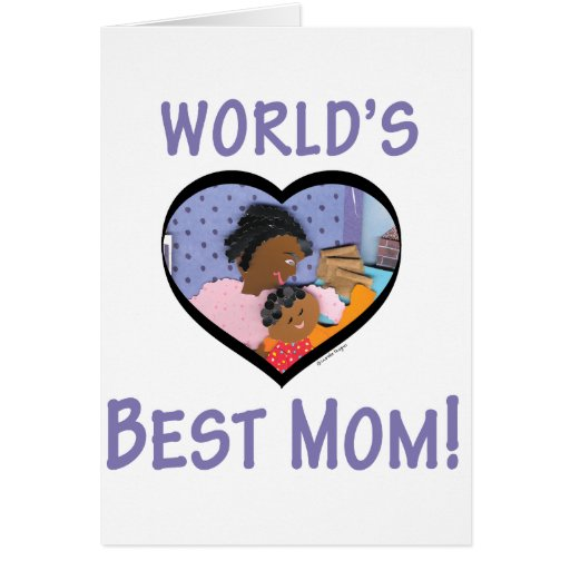 World's Best Mom Cards