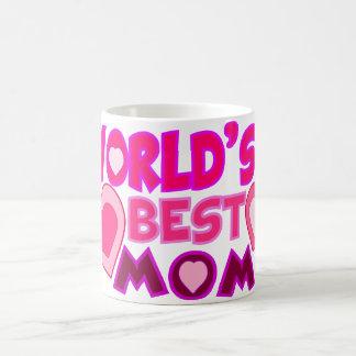 WORLD'S BEST MOM CLASSIC WHITE COFFEE MUG
