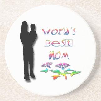World's Best Mom Coaster