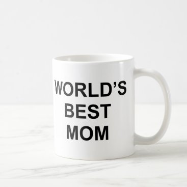 Smudly World's Best Mom Coffee Mug