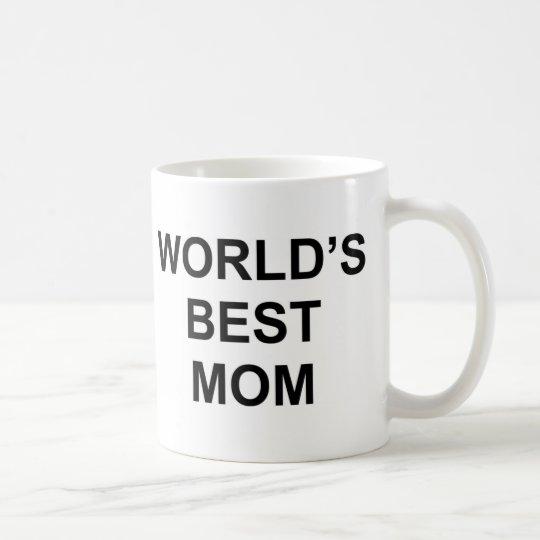 cfa9dd35a6d World's Best Mom Coffee Mug | Zazzle.com