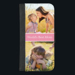"""World&#39;s Best Mom Custom Photo Collage iPhone 8/7 Plus Wallet Case<br><div class=""""desc"""">Style your iPhone to be as classy with this &quot;World&#39;s Best Mom Custom Photo Collage&quot; Unique Wallet Cover and make it more than just protective casing. This case is a perfect way to show off your favorite personal or family photo. It&#39;s also a great keepsake gift for mother to celebrate...</div>"""