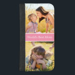 "World&#39;s Best Mom Custom Photo Collage iPhone 8/7 Plus Wallet Case<br><div class=""desc"">Style your iPhone to be as classy with this &quot;World&#39;s Best Mom Custom Photo Collage&quot; Unique Wallet Cover and make it more than just protective casing. This case is a perfect way to show off your favorite personal or family photo. It&#39;s also a great keepsake gift for mother to celebrate...</div>"