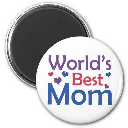 World's Best Mom Fridge Magnet
