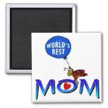 World's Best Mom Fridge Magnets