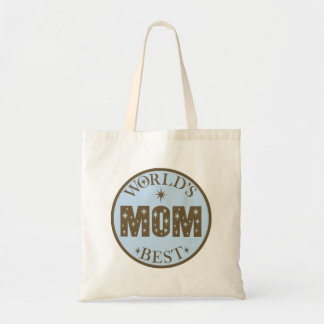 Worlds Best Mom Gift Tote Bags