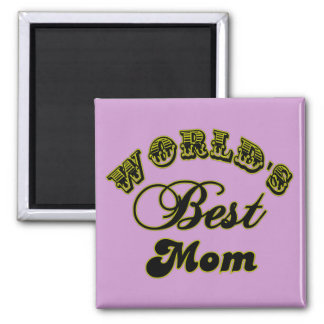 World's Best Mom Gifts and Best Mom Apparel Fridge Magnets