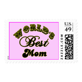 World's Best Mom Gifts and Best Mom Apparel Postage