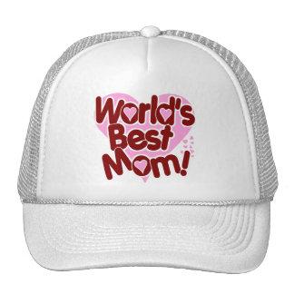 World's BEST Mom! Mesh Hat