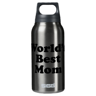 World's Best Mom Insulated Water Bottle