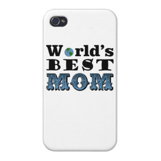 World's Best Mom iphone 4 cover Mother's day gift