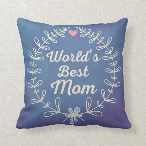 Christmas Throw Pillows for Mom as Gift