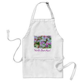 World's Best Mom Lilacs Apron