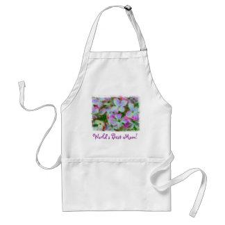 World's Best Mom Lilacs Apron