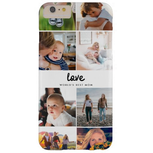 World's Best Mom Love Quote Instagram Photo Barely There iPhone 6 Plus Case