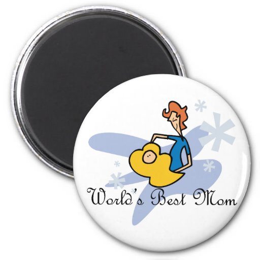 Worlds' Best Mom Magnets