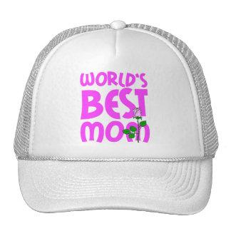 World's best mom mesh hat