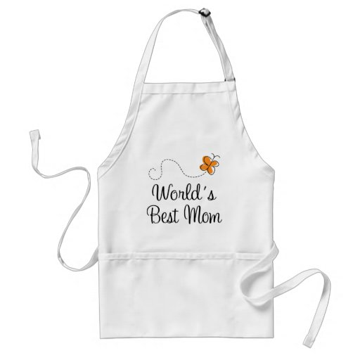 World's Best Mom Mother's Day Gift Aprons