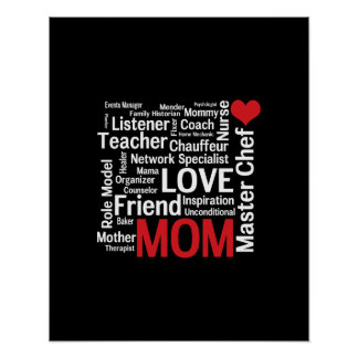 World's Best Mom - Mother's Day or Birthday Print