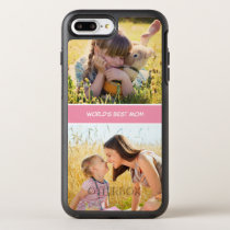 World's Best Mom Mothers Day Photos OtterBox Symmetry iPhone 7 Plus Case