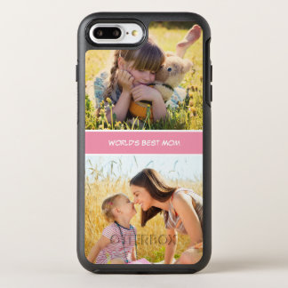 World's Best Mom Mothers Day Photos OtterBox Symmetry iPhone 8 Plus/7 Plus Case