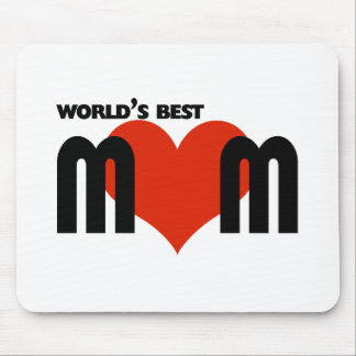 Worlds Best Mom Mouse Pad