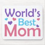 World's Best Mom Mousepads