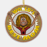 World's Best Mom Ornaments