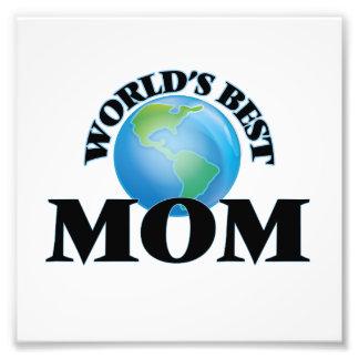 World's Best Mom Photo Print