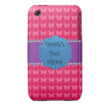 World's best mom pink butterflies iPhone 3 covers