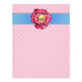 World's best mom pink diamonds full color flyer