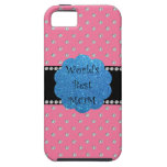 World's best mom pink diamonds iPhone 5 cover