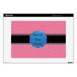 """World's best mom pink diamonds decals for 15"""" laptops"""
