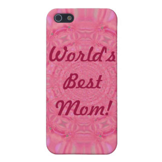World's Best Mom Pink iPhone 4 Case