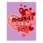 World's Best Mom Post Cards