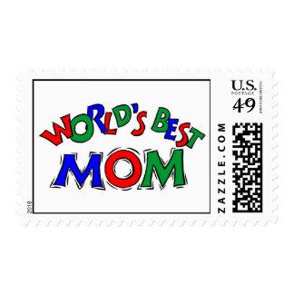 Worlds Best Mom Postage