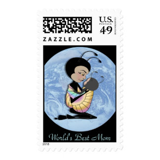 World's Best Mom Stamps