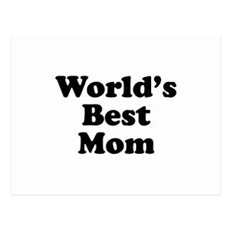 World's Best Mom Postcard