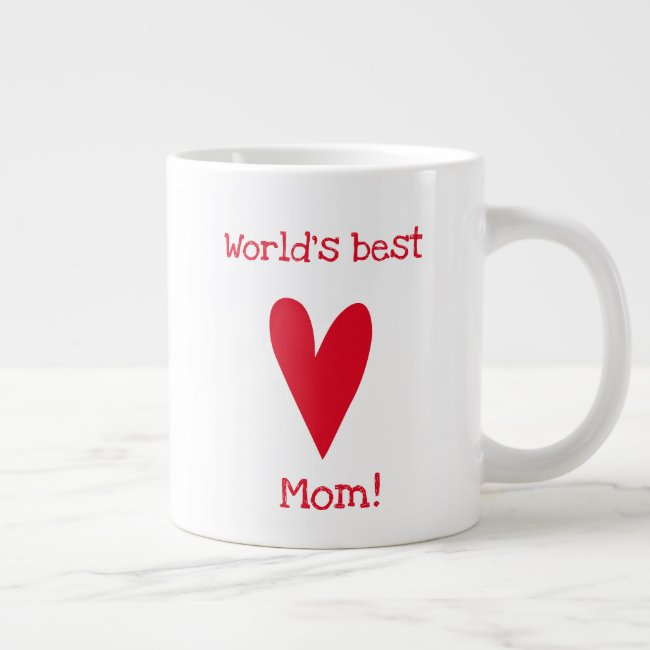 World's best mom | Red Heart Mother's Day