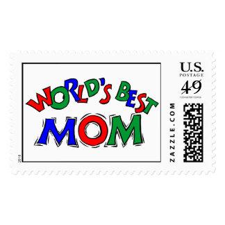 World's Best Mom Stamp (LARGE)