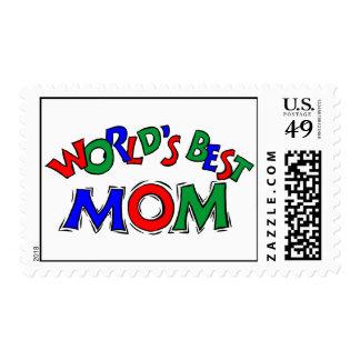 World's Best Mom Stamp (MEDIUM)